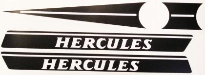 Hercules 70er Jahre Tankaufkleber-Set