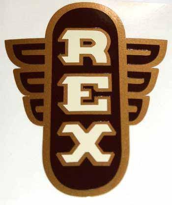 REX Sportmoped Schutzblechaufkleber