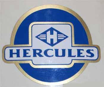 Hercules Moped Aufkleber 50er Jahre