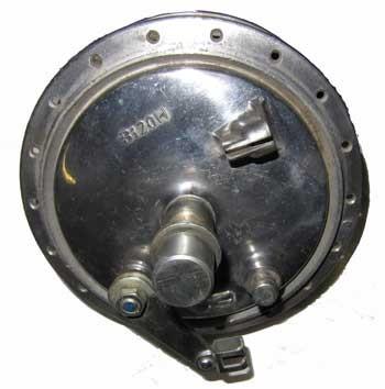 Komplette Hinterradnabe B120H Zweirad-Union Typ 115/136/139