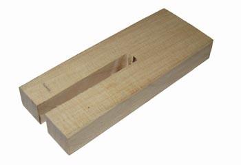 Kolbenblockierholz