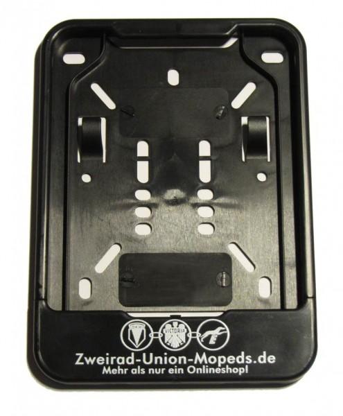 Kennzeichenunterlegplatte / Wechselkennzeichenhalter DKW Hummel für Versicherungskennzeichen