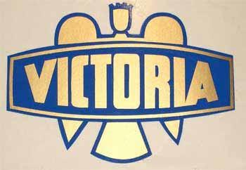 Victoria Vicky I, II, III und IV Rahmenaufkleber