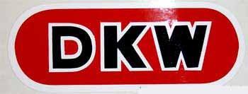 DKW Schutzblechaufkleber Typ 110/111