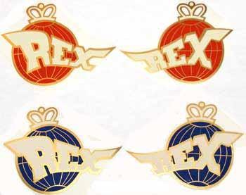 REX Sport-Mopedaufkleber