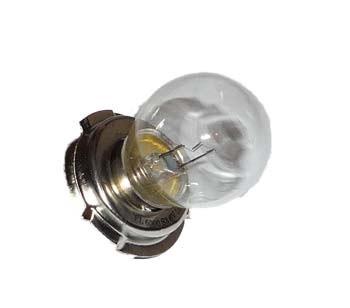 Vorderscheinwerfer Birne 6 Volt mit Sockel P26S