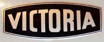 Victoria Vicky Schutzblechaufkleber