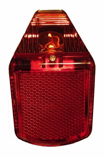 Rücklicht Zweirad-Union Typ 139/159 (DKW, Victoria, Express, auch TS) mit universal Rücklichtgummi