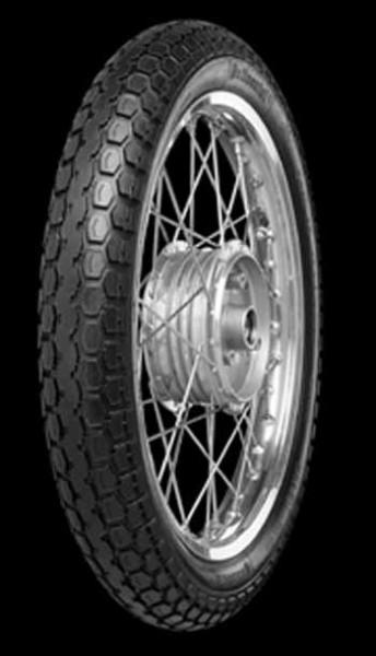 "Moped Reifen 21""x 2.75 schwarz Continental KKS"