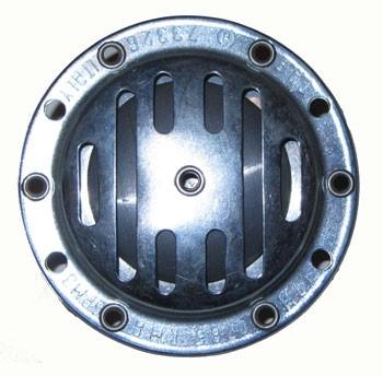 Schnarre / Horn 6V silber