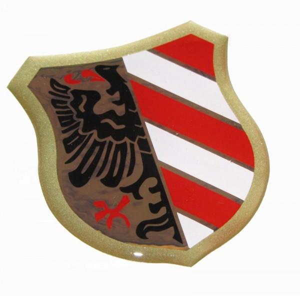 Zweirad-Union Blechbanane Wappen 115/155