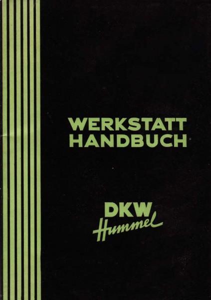 DKW Hummel / Hummel Super Werkstatthandbuch